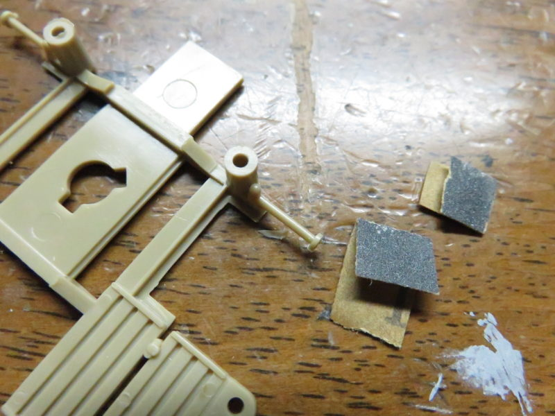 メーベルワーゲン試作型 Flakvierling38 ベース組み立て2