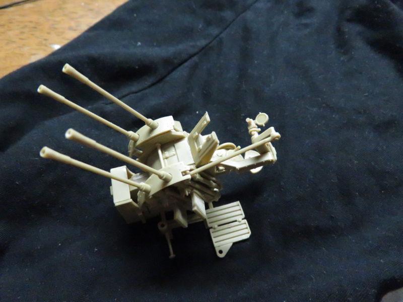 メーベルワーゲン試作型 Flakvierling38 対空射撃