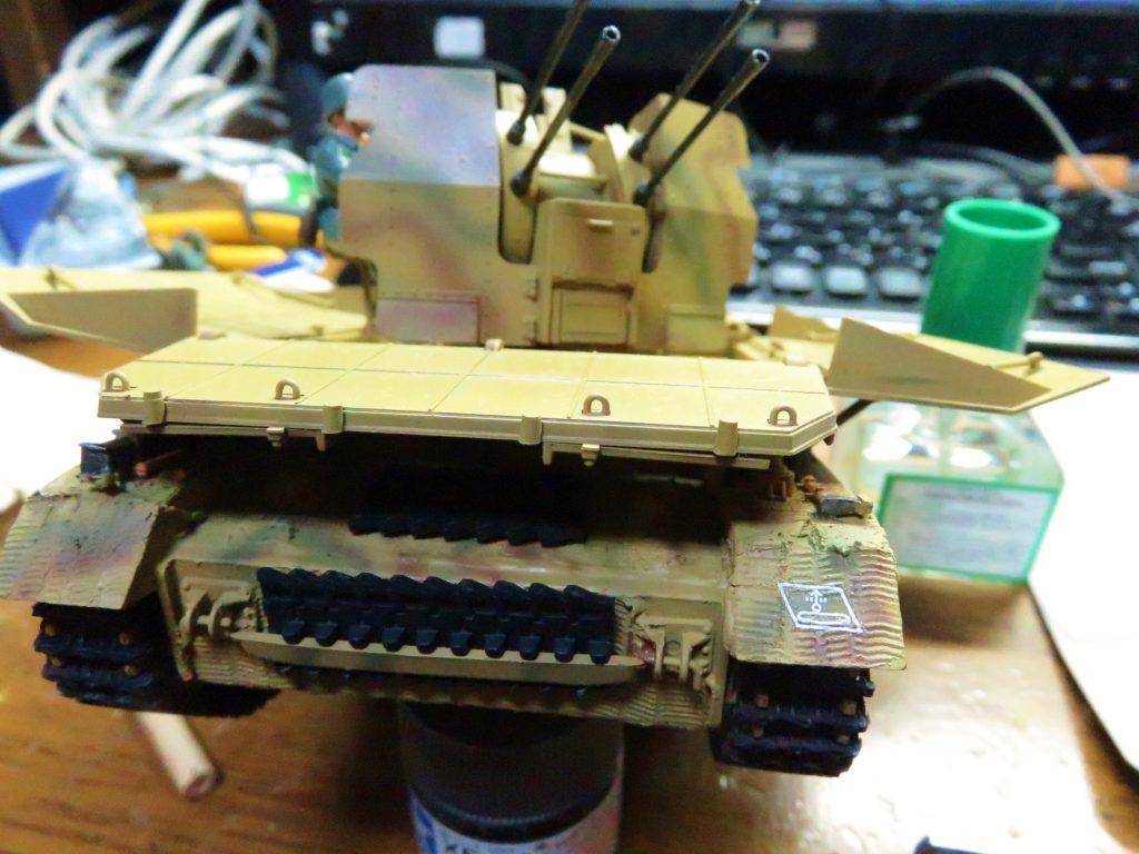 メーベルワーゲン試作型 デカール貼り付け完了