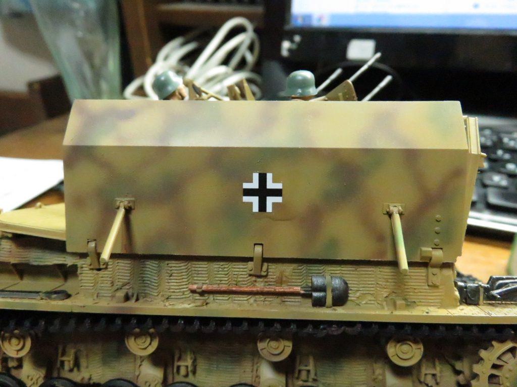メーベルワーゲン試作型 デカールの貼り付け2