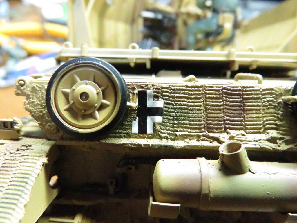 メーベルワーゲン試作型 デカールの貼り付け4