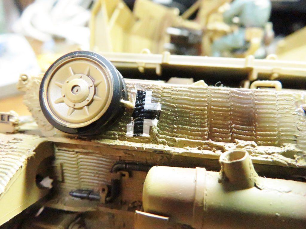 メーベルワーゲン試作型 デカールの貼り付け6