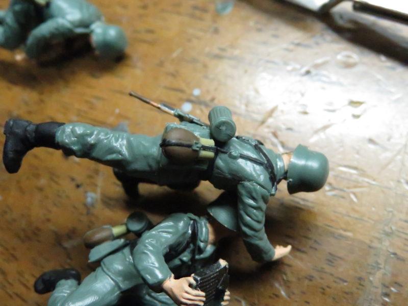 メーベルワーゲン試作型 フィギュア制作10