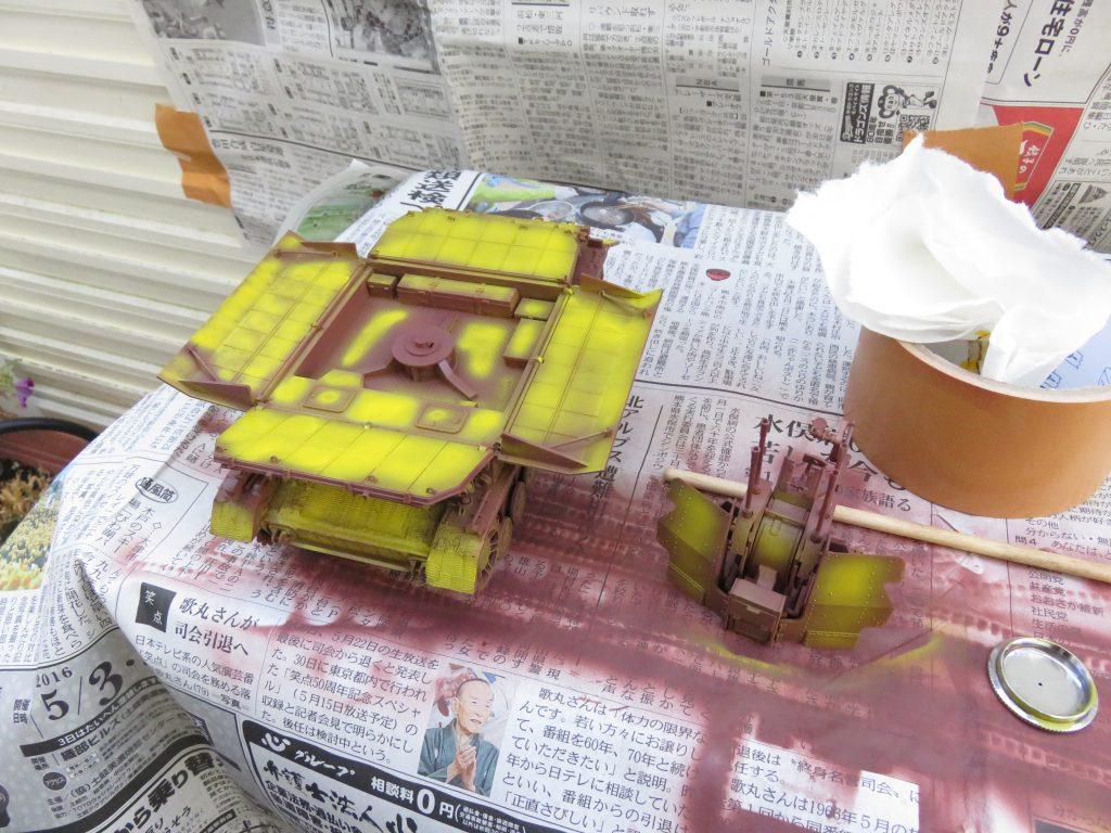 メーベルワーゲン試作型 イエロー塗装