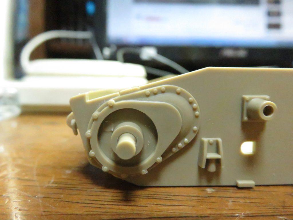 メーベルワーゲン試作型 起動輪基部パーツ