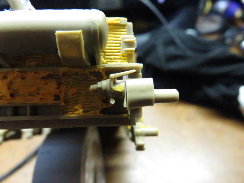 メーベルワーゲン試作型 誘導輪基部の隙間