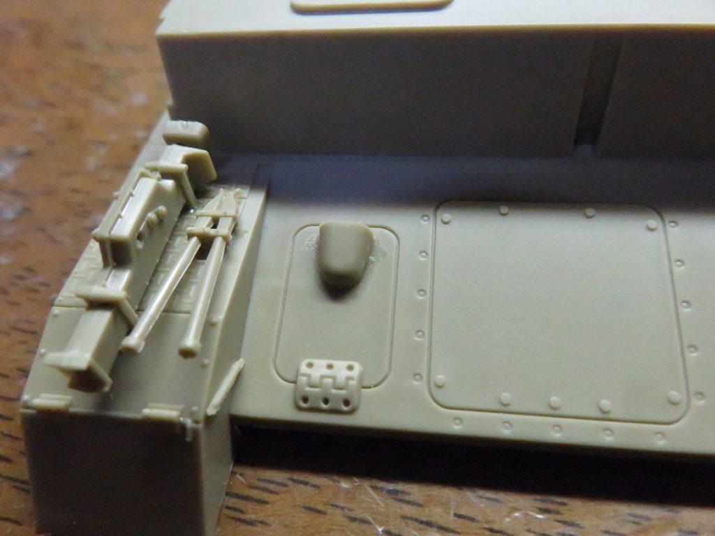 メーベルワーゲン試作型 ブレーキ点検ハッチの吸気口
