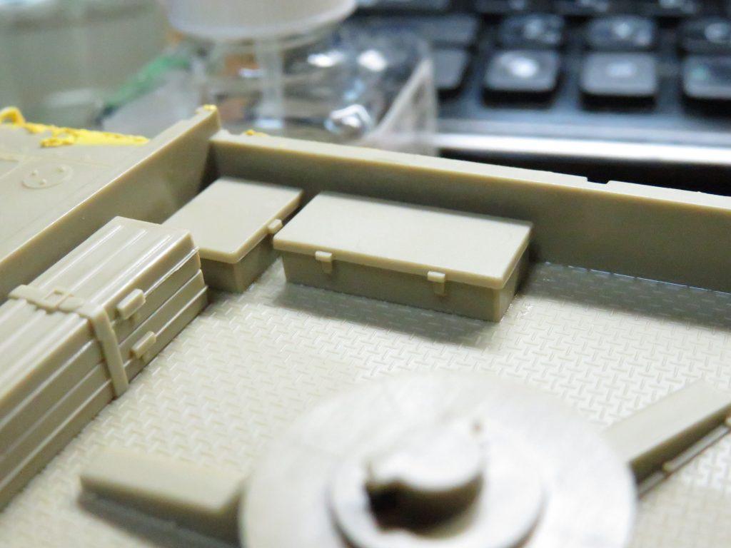 メーベルワーゲン試作型 車体上部 ツールケース