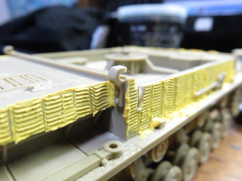 メーベルワーゲン試作型 装甲板のフック