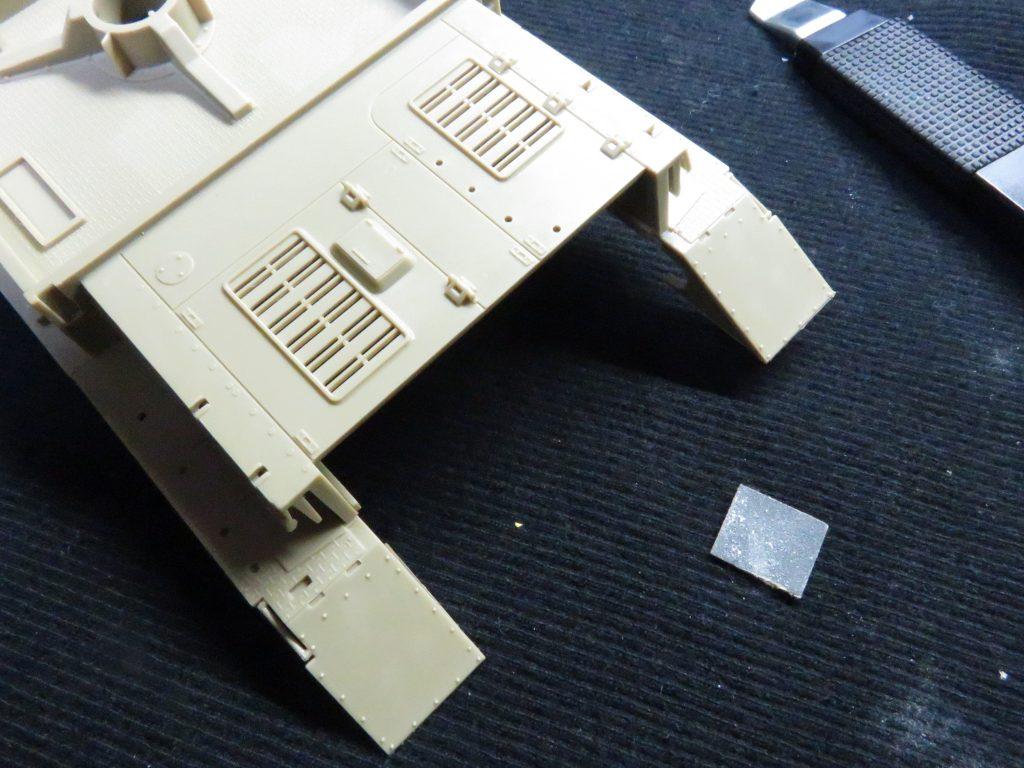 メーベルワーゲン試作型 フェンダー取り付け2