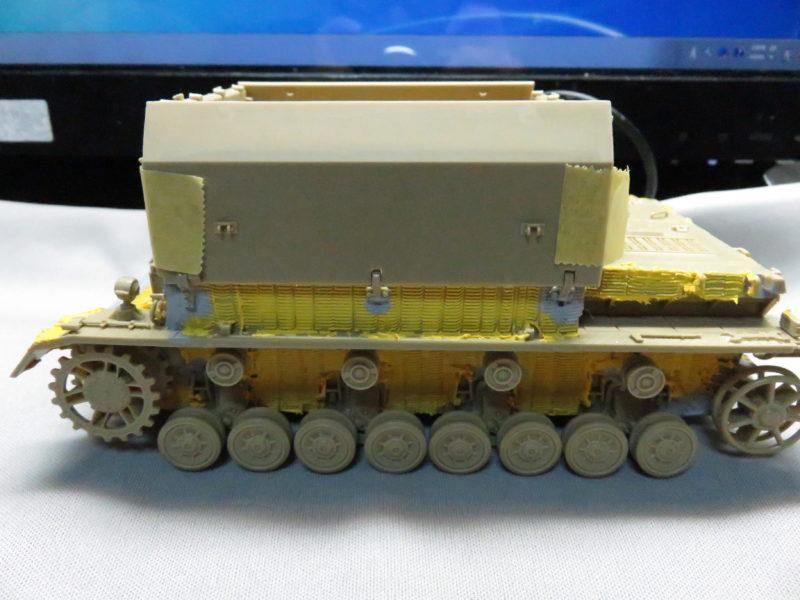 メーベルワーゲン試作型 装甲板取り付け