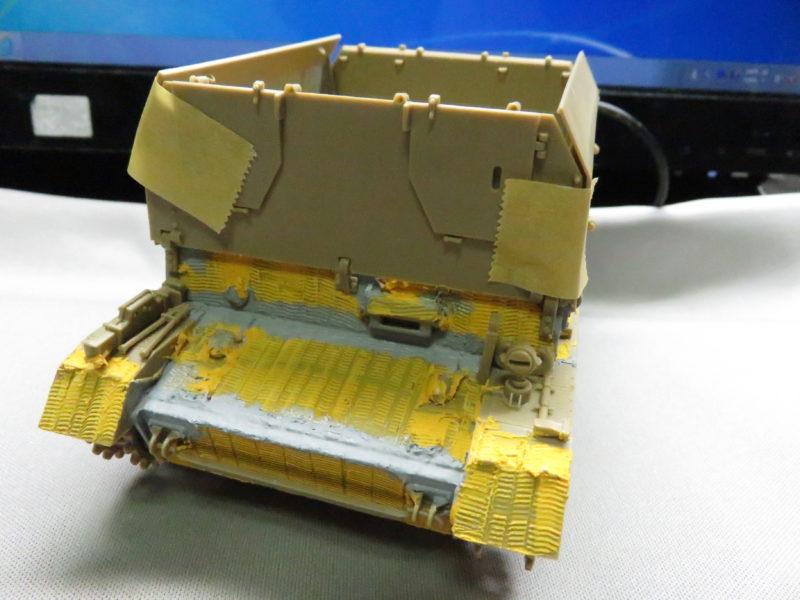 メーベルワーゲン試作型 装甲板取り付け2