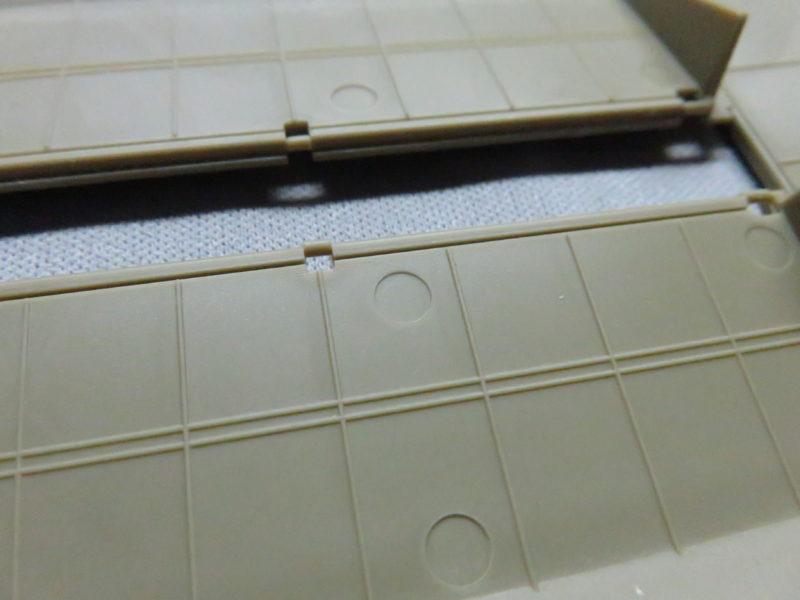 メーベルワーゲン試作型 装甲板の押し出しピン跡