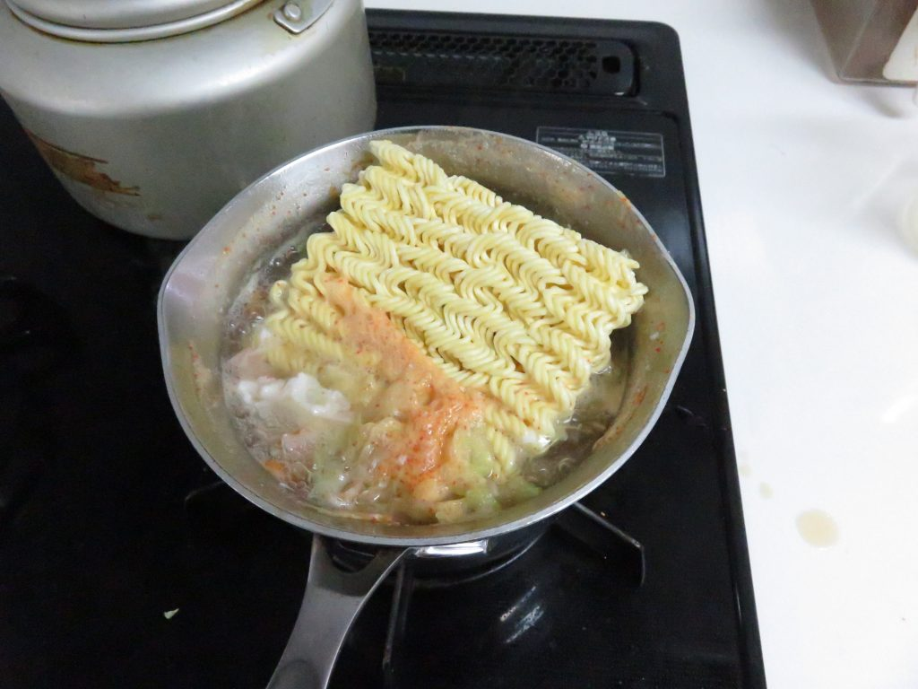 サッポロ一番 カレーラーメン(中辛)5