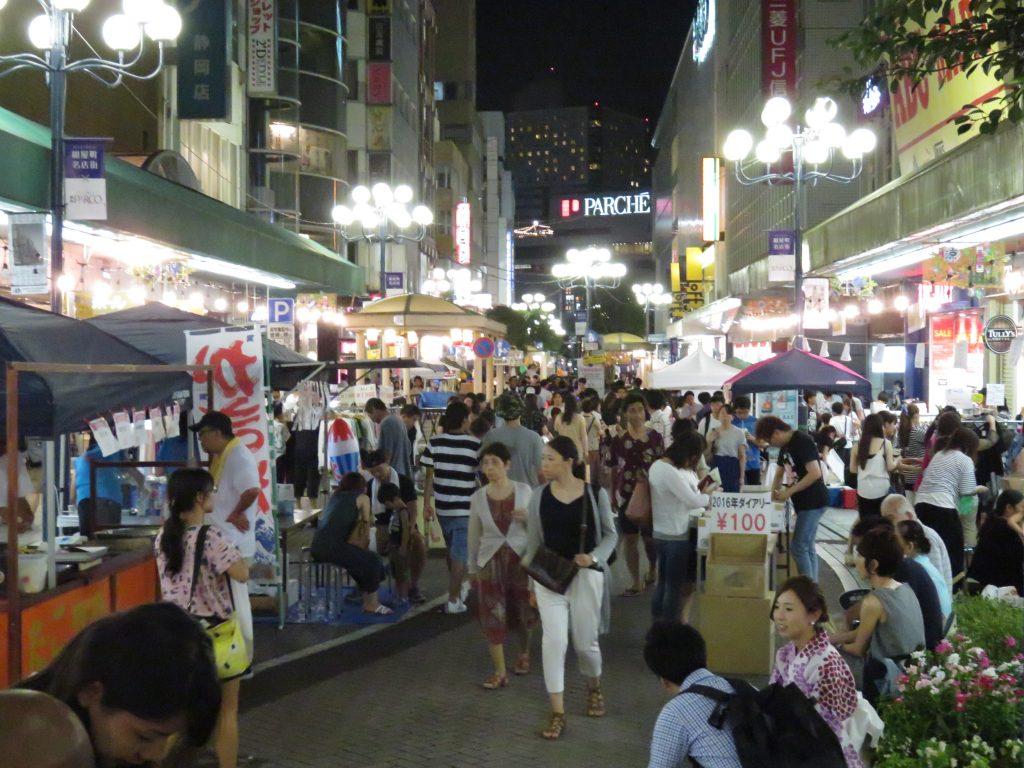第54回 静岡夏祭り夜店市2