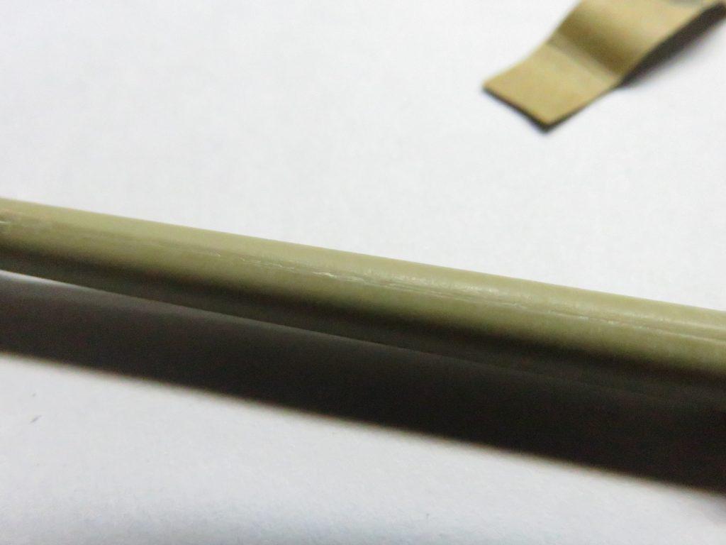 ティーガーI後期型 砲身の整形3