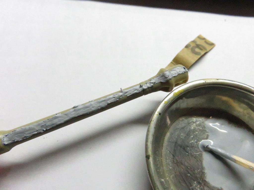 ティーガーI後期型 砲身の整形4