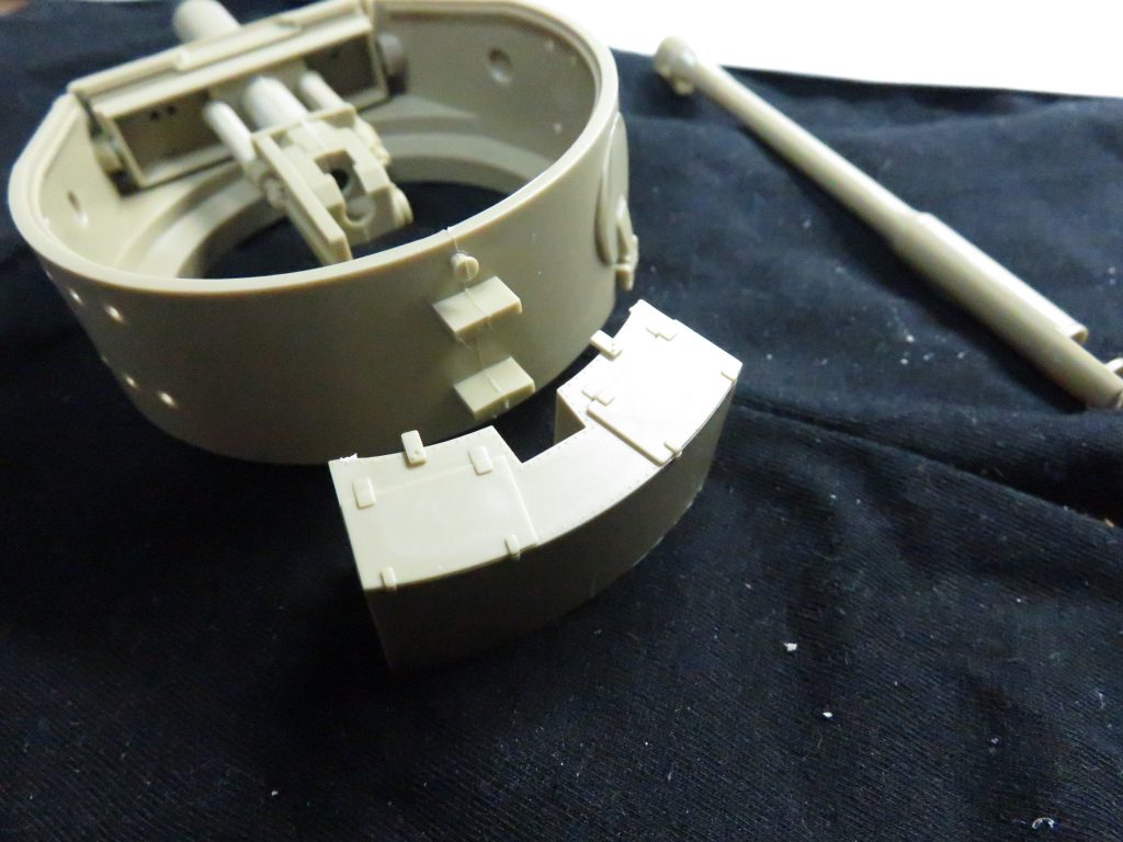 ティーガーI後期型 砲塔の組み立て8