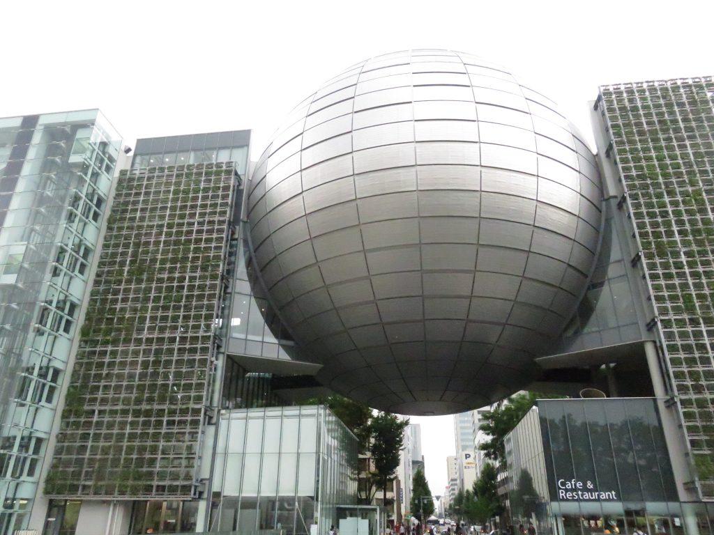 白川公園と名古屋市科学館3