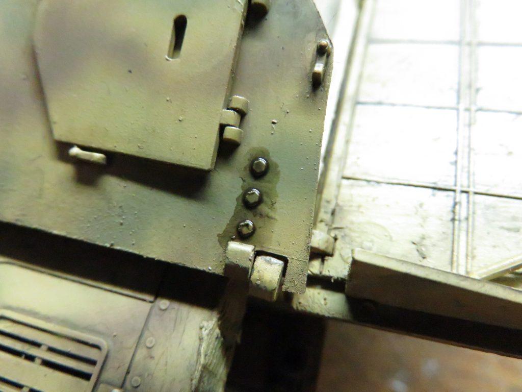 メーベルワーゲン試作型 墨入れ3