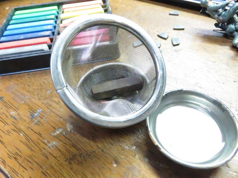 メーベルワーゲン試作型 履帯と転輪の泥汚れ