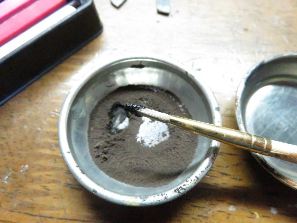 メーベルワーゲン試作型 履帯と転輪の泥汚れ2