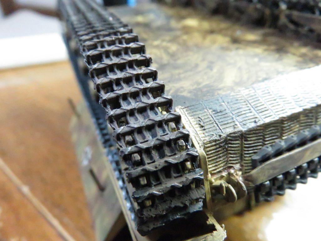 メーベルワーゲン試作型 履帯と転輪の泥汚れ3