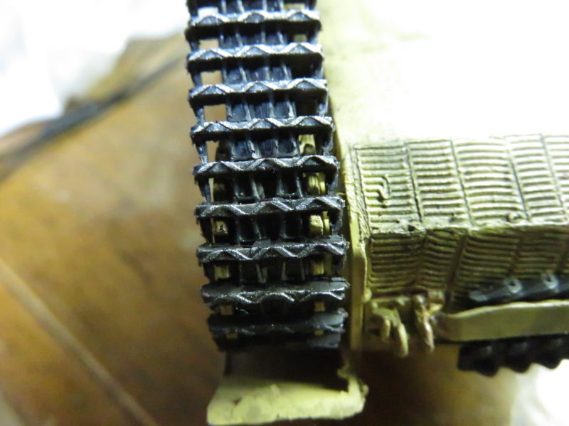 メーベルワーゲン試作型 履帯の摩耗再現2