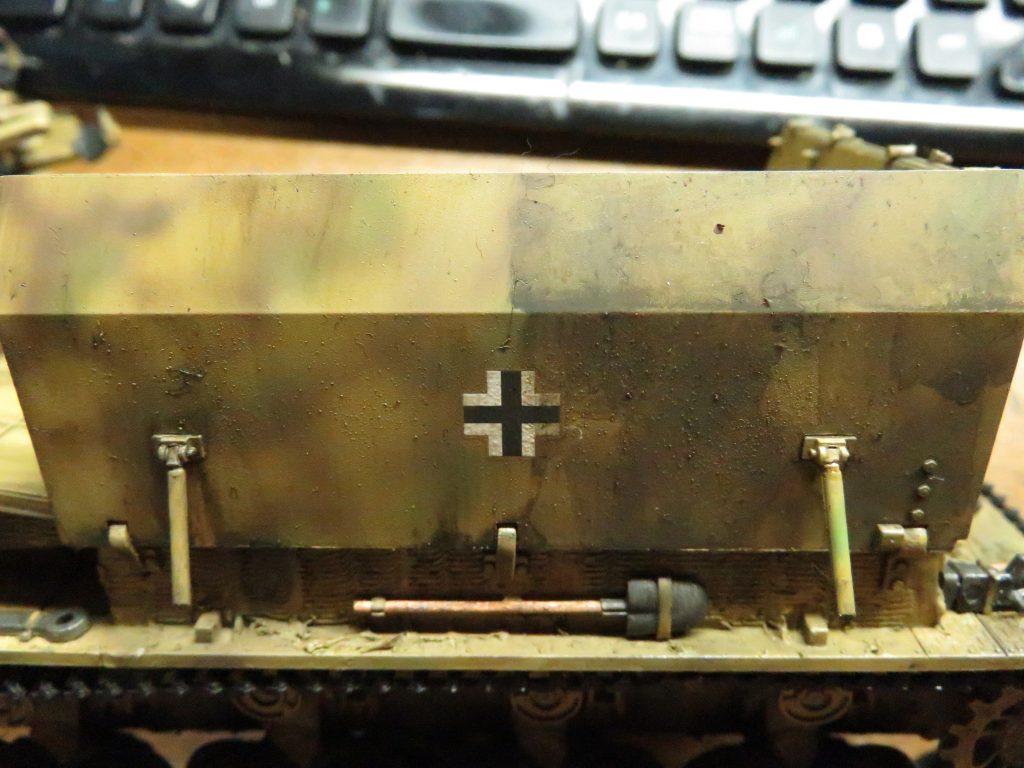 メーベルワーゲン試作型 ウォッシング 塗料の拭き取り 前後比較