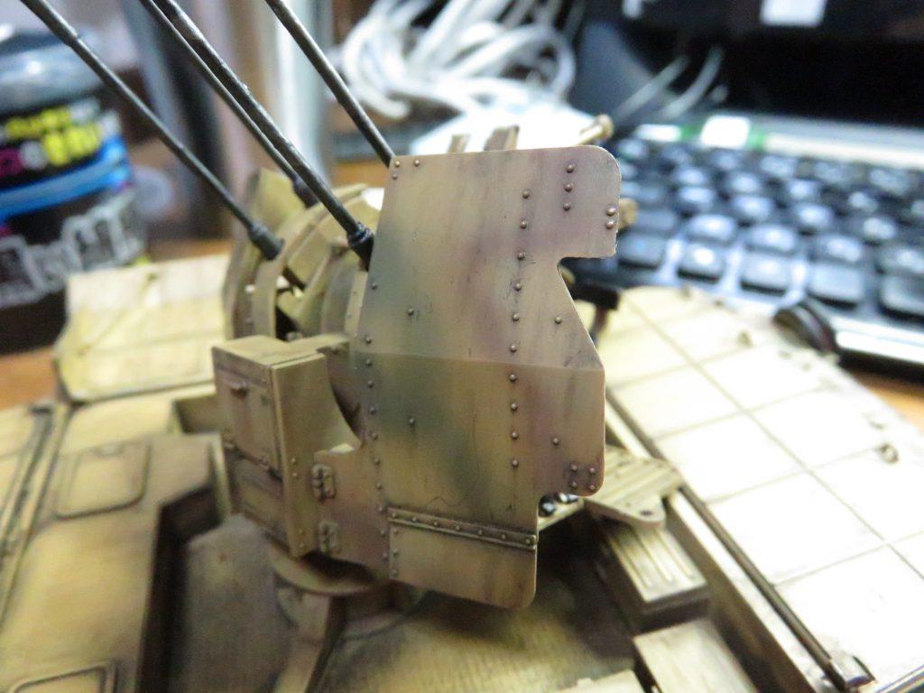 メーベルワーゲン試作型 ウォッシング 塗料の拭き取り4