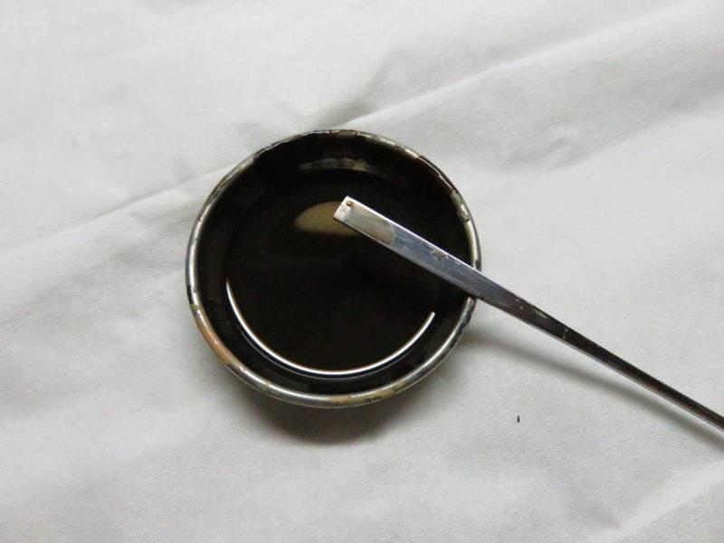 メーベルワーゲン試作型 ウォッシング 塗料の希釈