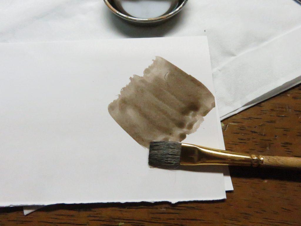 メーベルワーゲン試作型 ウォッシング 塗料の濃度
