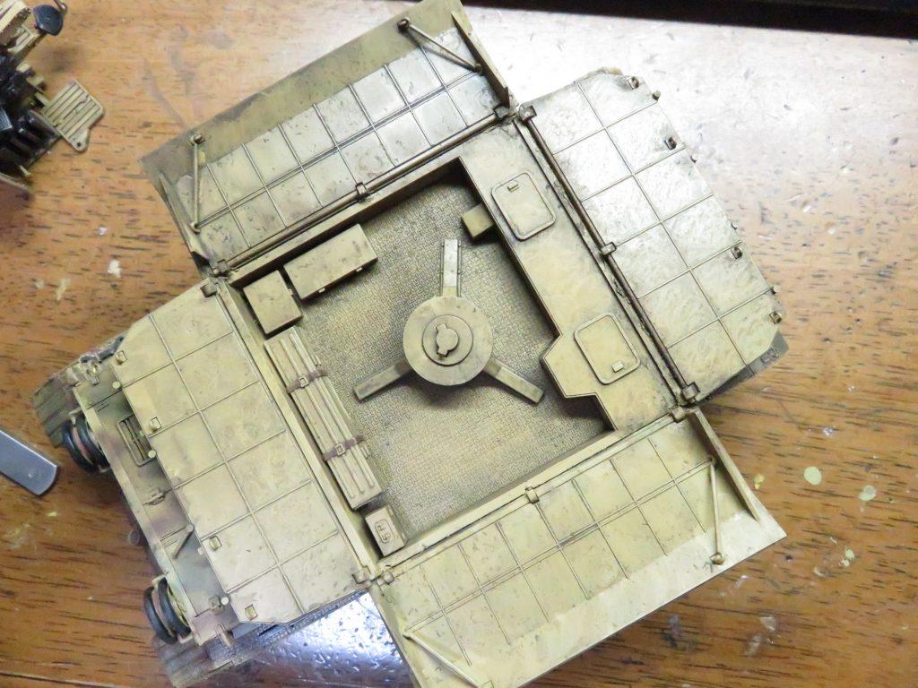 メーベルワーゲン試作型 ウォッシング 装甲板内側