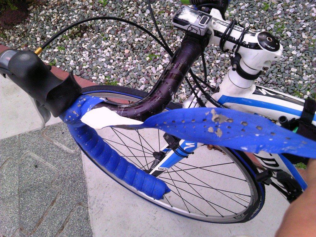 ロードバイク バーテープの交換2