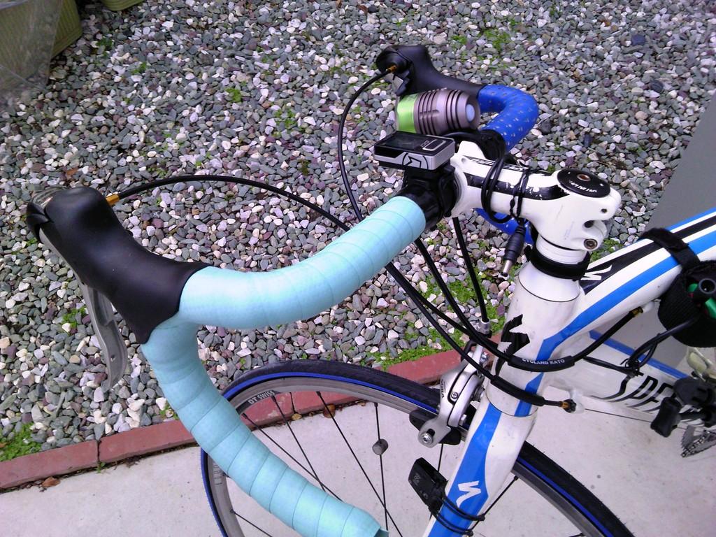 ロードバイク バーテープの交換4