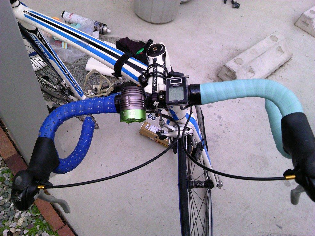 ロードバイク バーテープの交換5