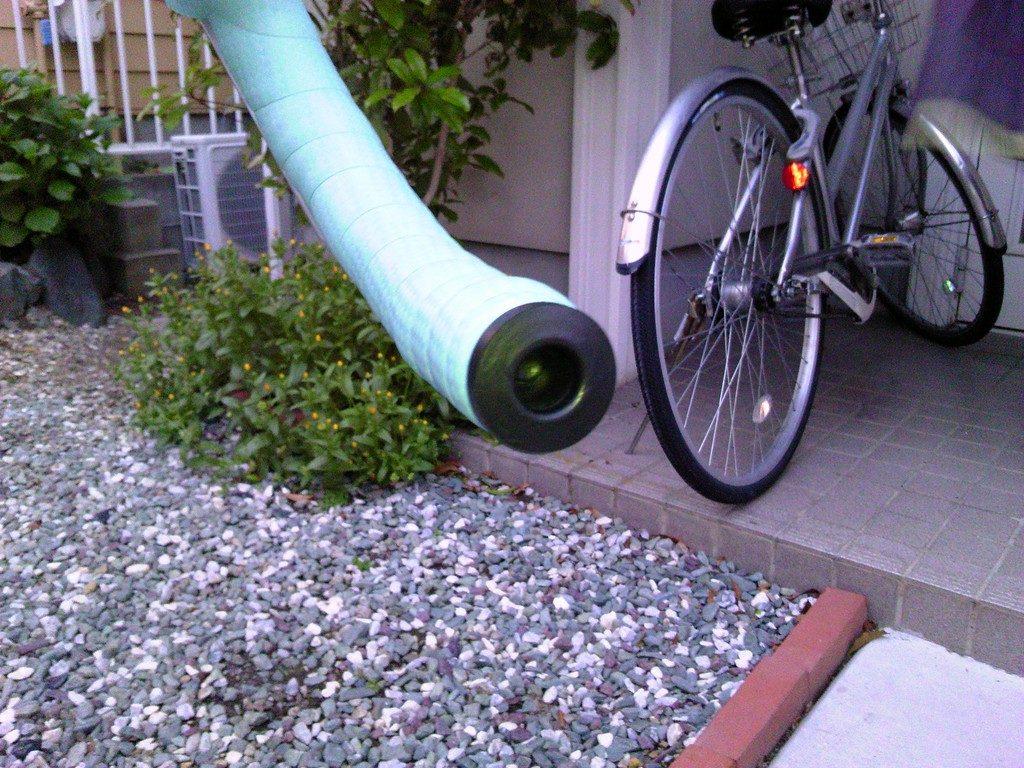 ロードバイク バーテープの交換6