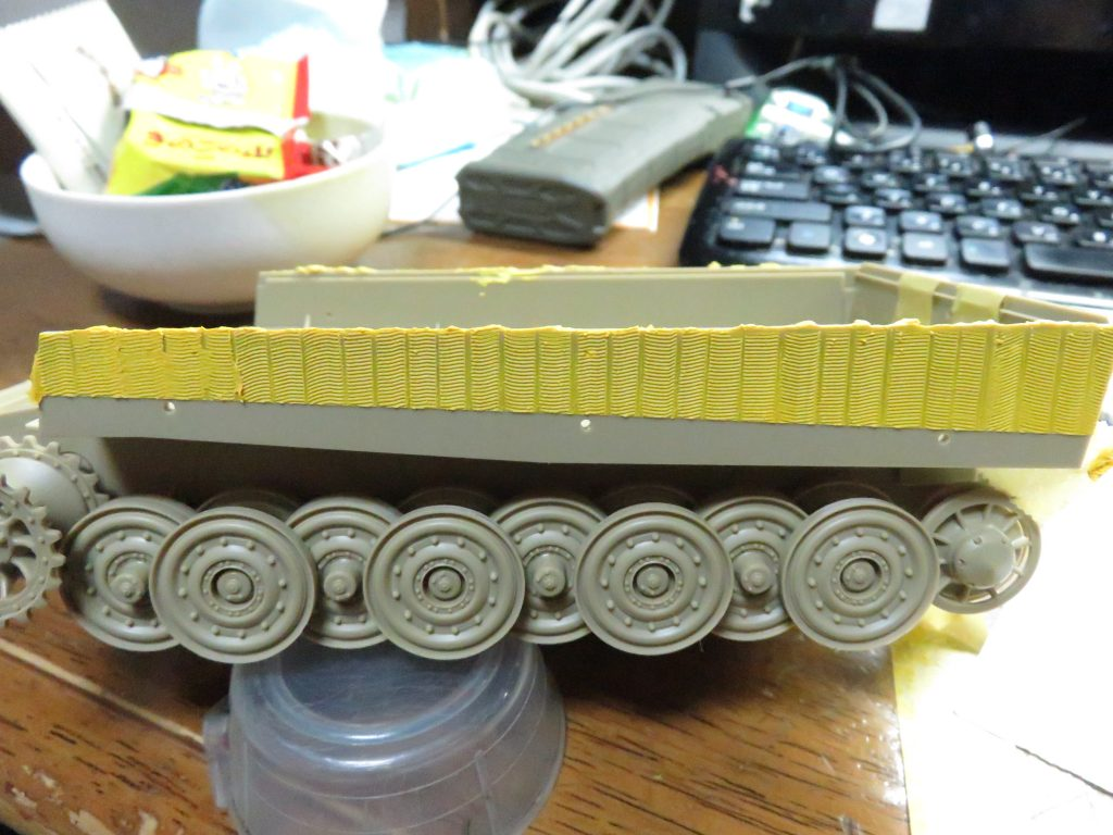 ティーガーI 側面装甲 ツィンメリットコーティング5