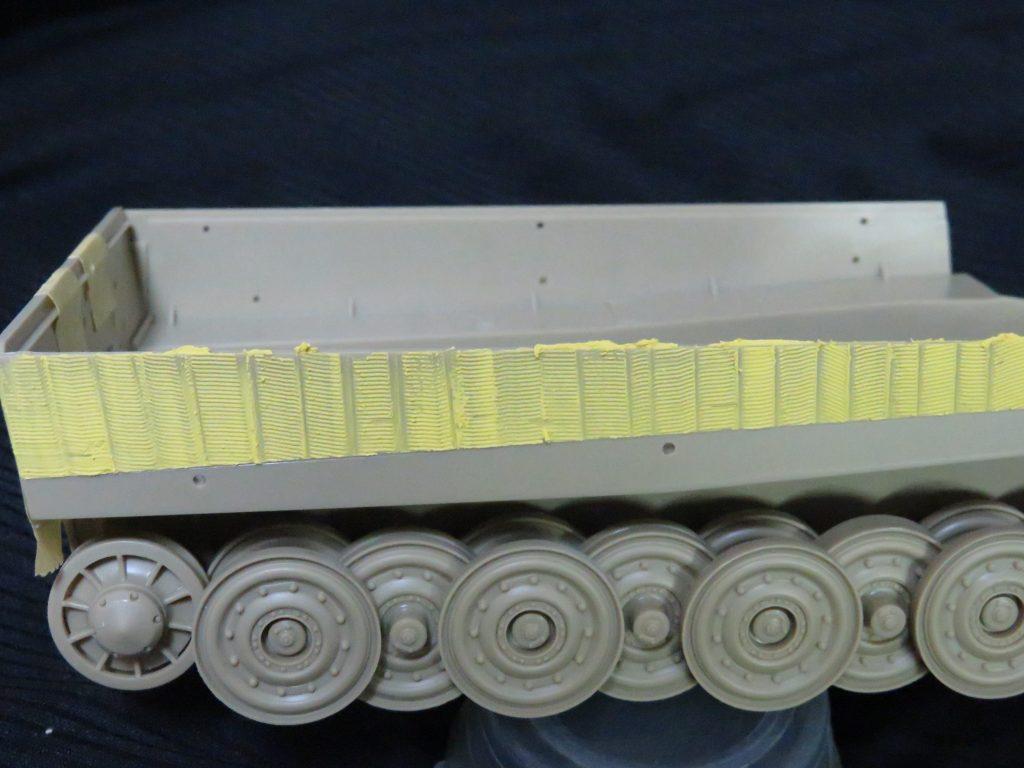 ティーガーI 側面装甲 ツィンメリットコーティング7