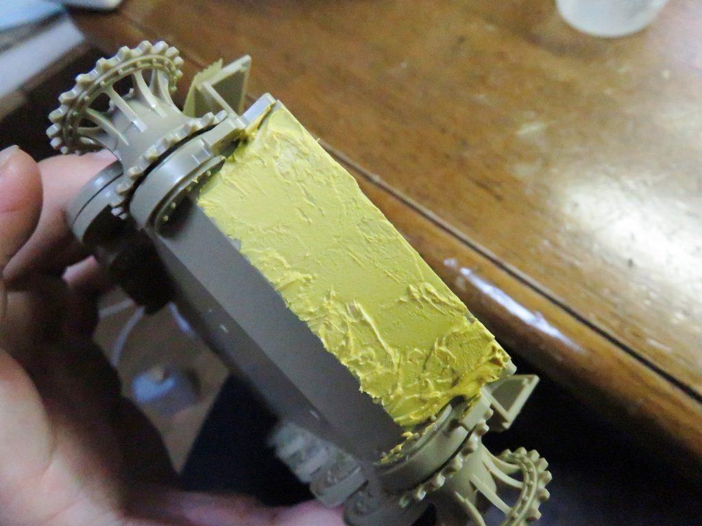 ティーガーI フロントパネル ツィンメリットコーティング
