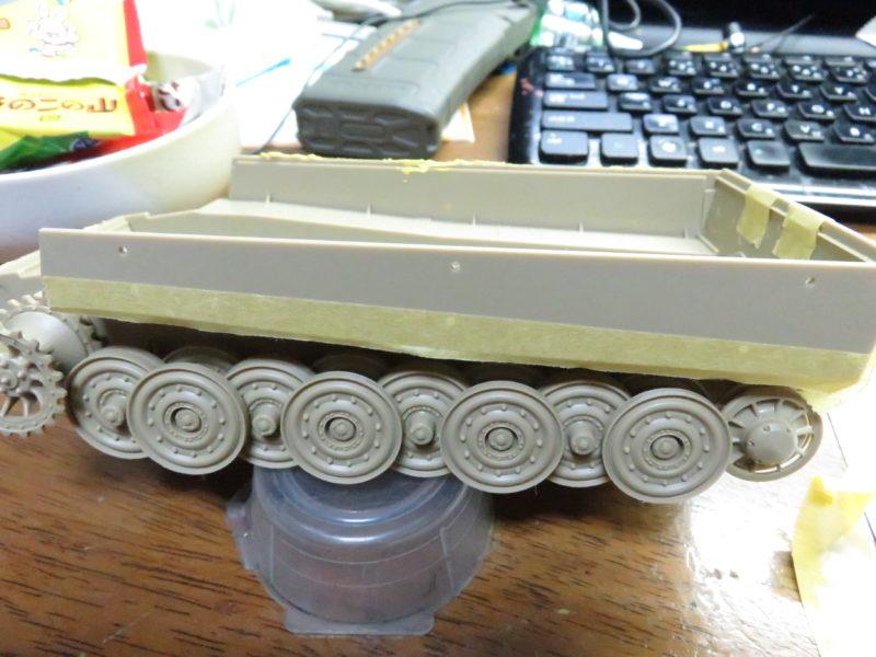 ティーガーI 側面装甲 ツィンメリットコーティング