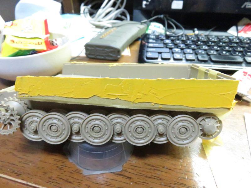 ティーガーI 側面装甲 ツィンメリットコーティング3