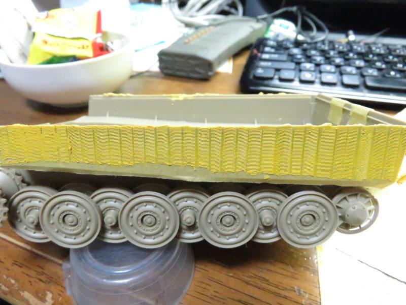 ティーガーI 側面装甲 ツィンメリットコーティング4