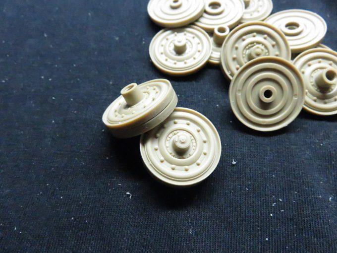 ティーガーIの鋼製転輪