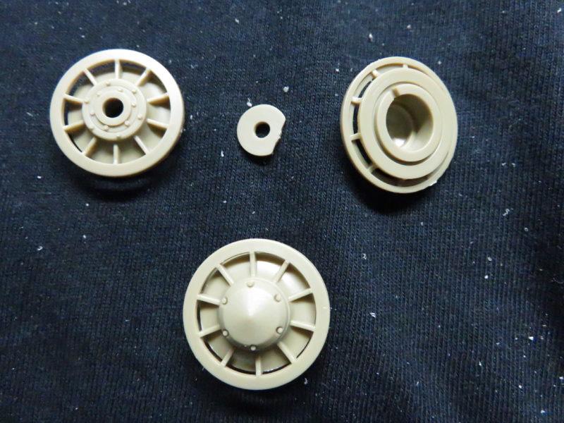 ティーガーI 誘導輪