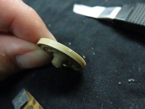 ティーガーI 転輪の整形