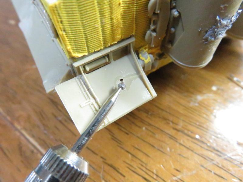 ティガーI後期型 フェンダーのバトルダメージ2