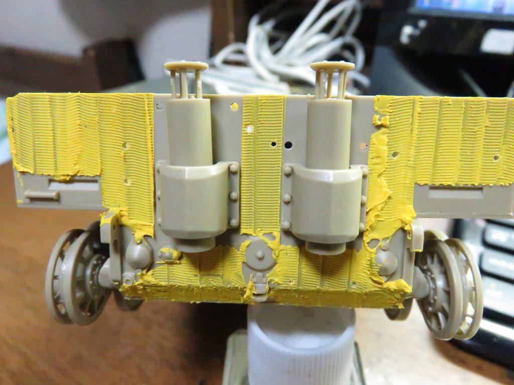 ティーガーI後期型 マフラー取り付け2