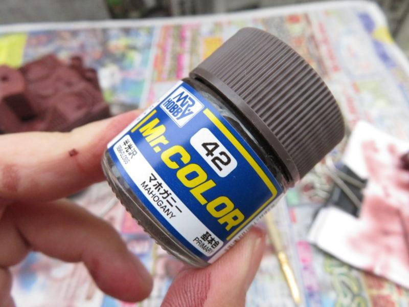 ティーガーI後期型 影の塗装