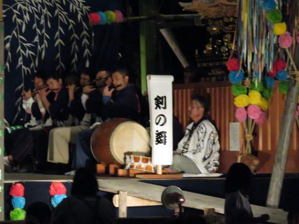 大脇神明社 『大脇梯子獅子』12